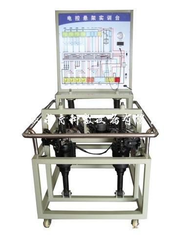 产品介绍 发动机教学  我公司生产的电控悬挂系统实验台( fdj-79)选用